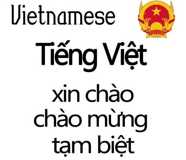 Язык во Вьетнаме
