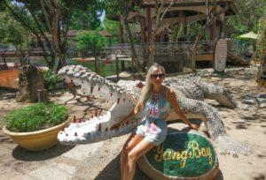 Ферма крокодилов в Нячанге