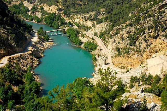 Зелёный каньон