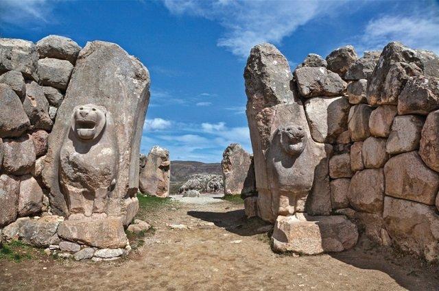 Руины Хаттусы