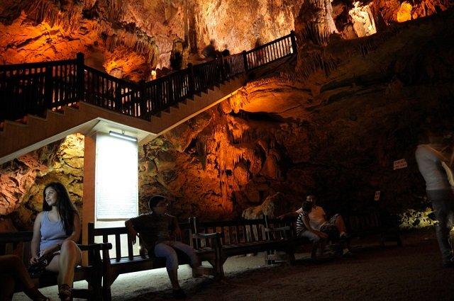 Пещера Дамлаташ (Алания)