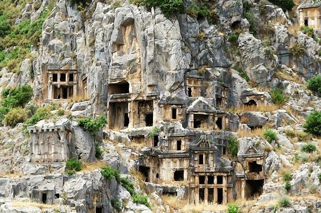 Ликийские гробницы (Демре)