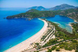 Какие моря омывают берега Турции?