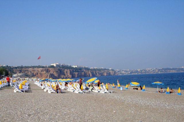 Какое море в Турции