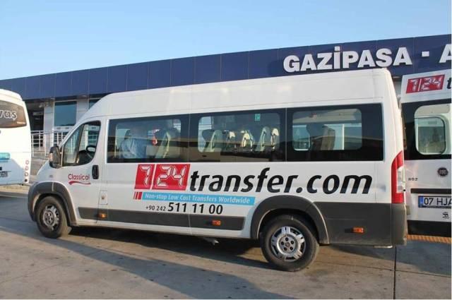 Как добраться из аэропорта Газипаша до Алании