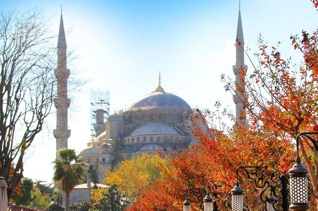 Турция осенью
