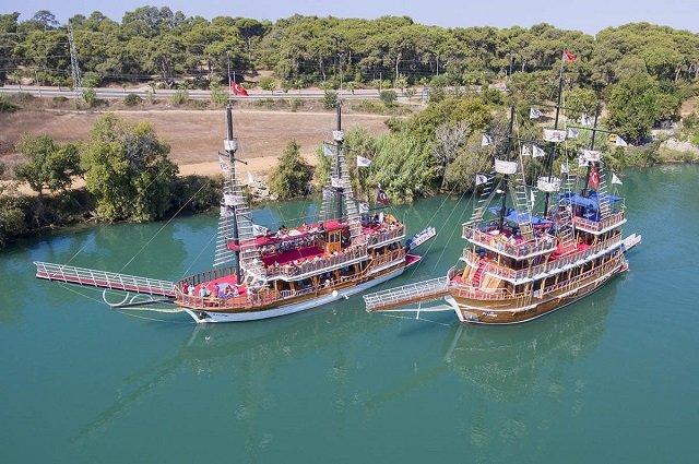Яхт тур по реке Манавгат