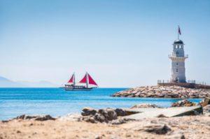 Какое море у берегов Алании?