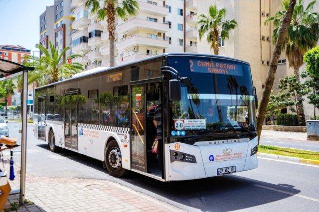 Общественный транспорт в Алании