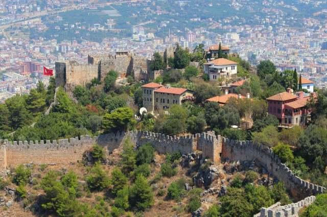 Крепость в Алании