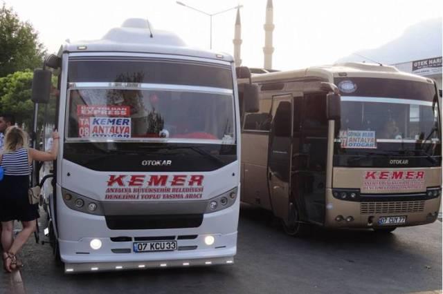 Как добраться из Анталии до Кемера