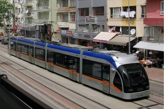Общественный транспорт в Анталии