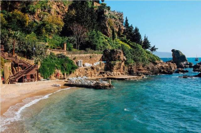 Пляж Мермерли в Анталии