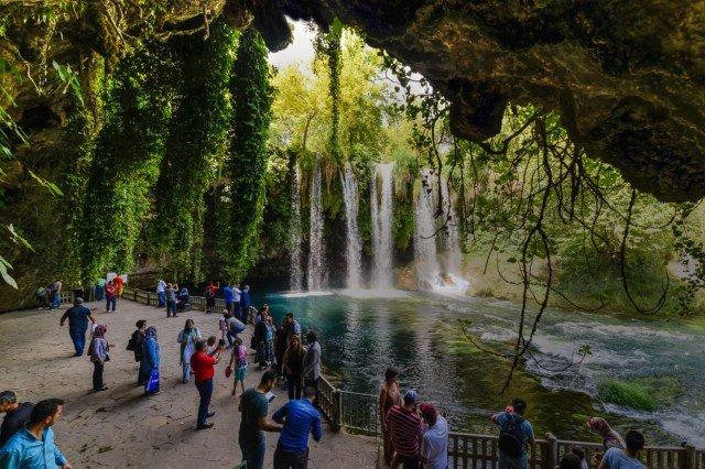 Водопад Дюден в Анталии
